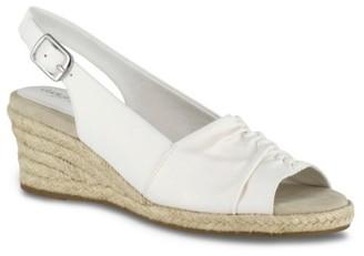 Easy Street Shoes Kindly Espadrille Wedge Sandal