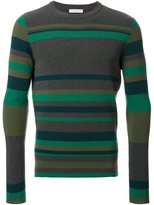 J.W.Anderson striped crew neck jumper