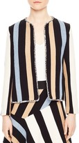 Sandro Bridget Striped Jacket