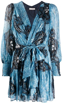 Ulla Johnson Wrap Front Mini Dress