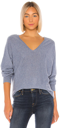 Vince DBL V Neck Pullover Sweater