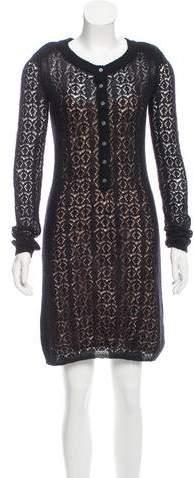 Marc by Marc Jacobs Lace Knit Dress