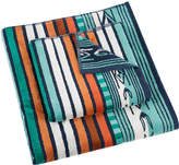Pendleton Sculpted Towel - Aqua - Hand Towel