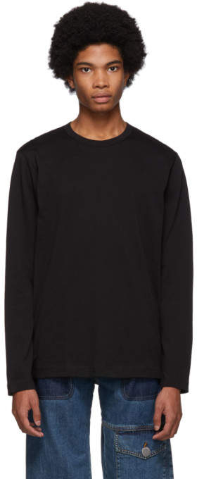 Comme des Garcons Shirt Shirt Black Forever Long Sleeve T-Shirt