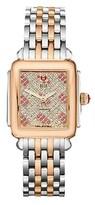 Michele Women's Stainless Steel Diamond Watch.