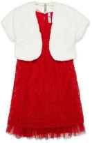 Knitworks Knit Works Sleeveless Party Dress - Big Kid