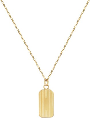 Electric Picks Henley Tag Necklace
