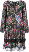 Alice + Olivia Alice+Olivia ruffled floral dress