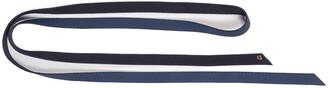 Agnona Double Wrap Cashmere-Blend Belt, Blue