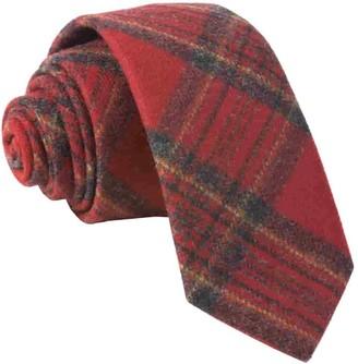 Tie Bar Barberis Wool Natale Red Tie