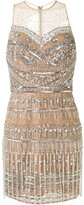 ZUHAIR MURAD embellished tulle mini dress