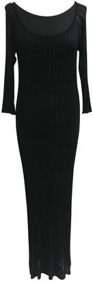 Sonia Rykiel Black Viscose Dresses