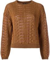 Gig - knitted blouse - women - Polyester/Spandex/Elastane/Viscose - PP