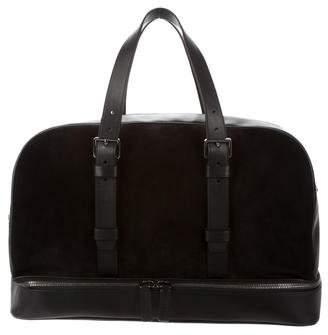 Michael Kors Leather & Suede Weekender