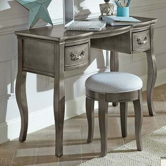 Troutdale Vanity Greyleigh Color: Antique Silver