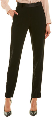 Halston Wool-Blend Pant