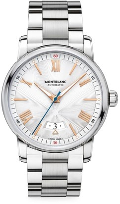 Montblanc 4810 Stainless Steel Bracelet Automatic Date Watch