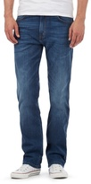 Wrangler Arizona Blue Mid Wash Stretch Straight Jeans