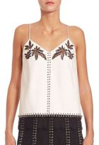 Alexander Wang Leather Camisole