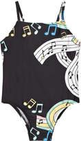 Mini Rodini Black Melody Swimsuit