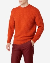 N.Peal The Thames Cable Cashmere Sweater