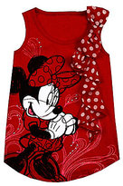 Disney 2T-6X Minnie Mouse Dotted-Ruffle Tee