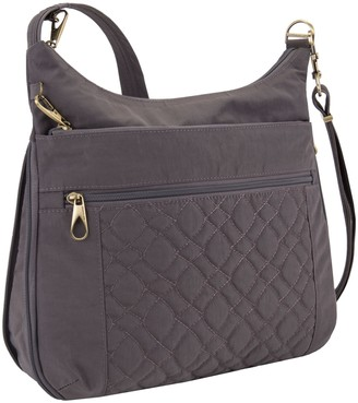 Travelon Anti-Theft Signature Quilted ExpansionCrossbody Bag