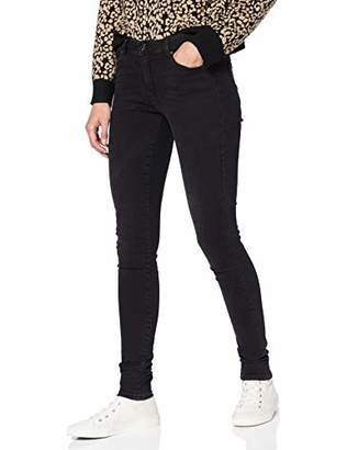 Only Women's Onlfcarmen Reg Sk Jeans Bb Az141700 Skinny Black Denim, (Size: 32)