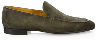 Saks Fifth Avenue COLLECTION BY MAGNANNI Suede Venetian Loafers