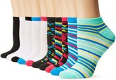 Chatties Women's Petite Low Cut Socks 10-Pack