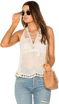 Saylor Kendra Top in White. - size L (also in M,XS)