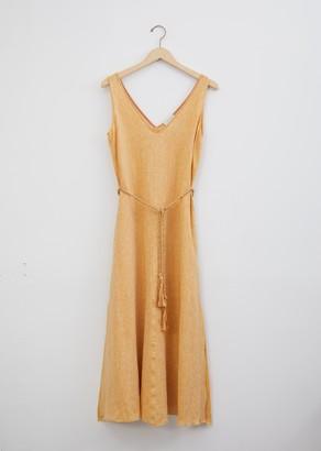 Forte Forte Shimmering Linen Dress with Belt