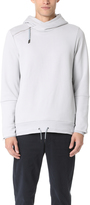 Scotch & Soda Hooded Sweatshirt with Side Panel