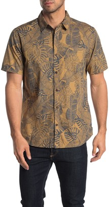 Hurley Paradise Winds Short Sleeve Button-Down Shirt