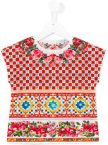 Dolce & Gabbana Carreto Siciliano print T-shirt - kids - Cotton - 6 yrs