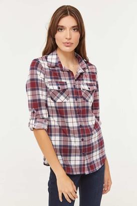 Ardene Tartan Plaid Shirt
