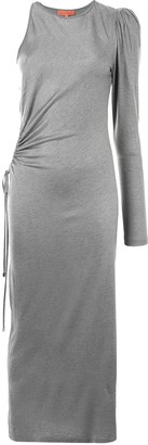 Manning Cartell Australia One-Shoulder Draped Detail Dress