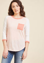 Lost and Lounge Top in Petal in L