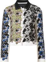 Giambattista Valli jacquard cropped jacket - women - Silk/Cotton/Viscose - 40