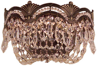 Classic Lighting Regency II, Roman Bronze, Crystal