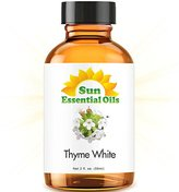 Thyme (White) (2 fl oz) Essential Oil 100% Pure -- Best 2 ounces (59ml)