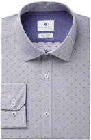 Ryan Seacrest Distinction Ryan Seacrest DistinctionTM Men's Slim-Fit Stretch Non-Iron Performance Pin Dot Dress Shirt, Created for Macy's