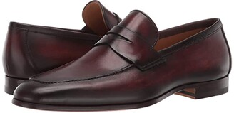 Magnanni Reed (Mid Brown) Men's Shoes