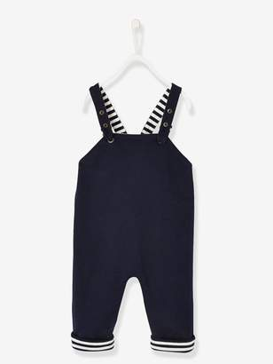 Vertbaudet Reversible Dungarees for Baby Boys