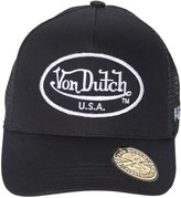 Von Dutch Men's OG Patch Black Trucker Hat