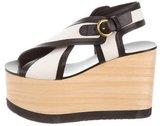 Isabel Marant Crossover Platform Sandals w/ Tags