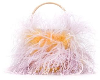 Gatti Tweety feather bucket bag
