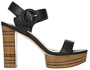 Via Spiga Women's Ira Leather Platform Sandals