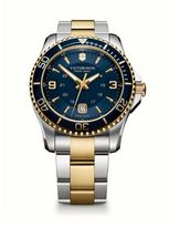 Victorinox Maverick Two-Tone Stainless Steel Bracelet Watch