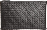 Bottega Veneta Women's Intrecciato Flat Zip Case